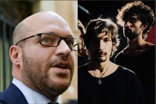 """Il ministro Fontana con Carone e Dear Jack: """"Dispiaciuto che 'Caramelle' sia fuori da Sanremo"""""""