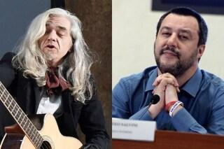 """Matteo Salvini contro Morgan, ancora polemiche musicali: """"Mi mancavano le sue lezioni di vita"""""""