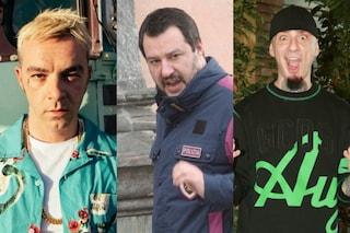Musica contro Matteo Salvini: Salmo, Gemitaiz, J-Ax, oggi è il rap la voce dell'opposizione musicale