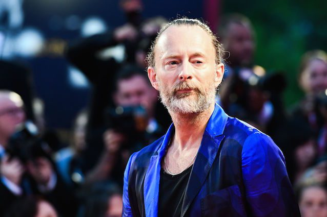 Thom Yorke a Venezia (Getty Images)