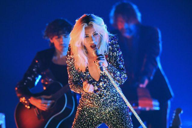 Lady Gaga ai Grammy Awards (Getty Images)