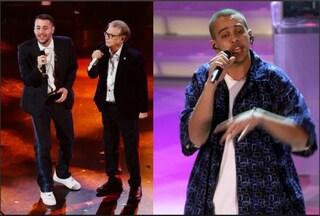 """Sanremo 2019, Nino D'Angelo e Livio Cori cantano """"Un'altra luce"""" con i Sottotono"""