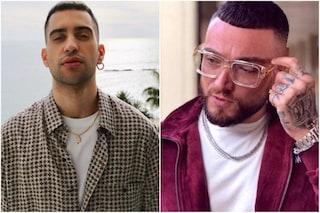 """Sanremo 2019, Mahmood canta """"Soldi"""" in duetto con Guè Pequeno"""