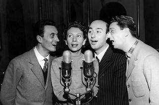 Chi era il Quartetto Cetra, il gruppo omaggiato nella prima puntata del Festival di Sanremo 2019