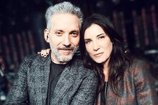 """Sanremo 2019, Paola Turci canta con Giuseppe Fiorello """"L'ultimo ostacolo"""""""