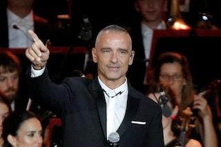 """Eros Ramazzotti dopo l'operazione alle corde vocali: """"Mi dovrete sopportare ancora per molto tempo"""""""