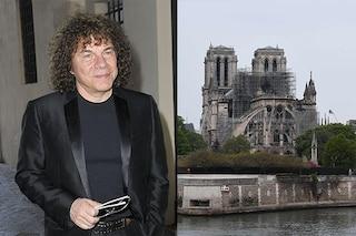 """Incendio a Notre-Dame, parla Riccardo Cocciante: """"Stiamo decidendo come dare il nostro contributo"""""""