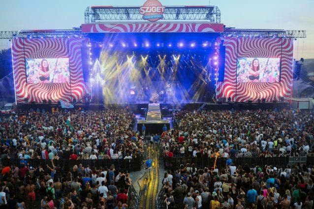 Il palco principale dello Sziget (foto d'archivio, Getty Images)