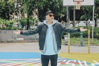 """Clementino e Spotify regalano un campo da Basket ristrutturato: """"Nuovo ritrovo hip hop a Napoli"""""""