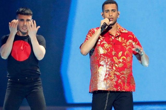Mahmood all'Eurovision (LaPresse)