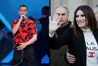 """Plauso di Laura Pausini a Mahmood, secondo all'Eurovision: """"Traguardo gigante cantando in italiano"""""""