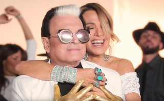 Barbara D'Urso e Cristiano Malgioglio protagonisti del video di Dolceamaro