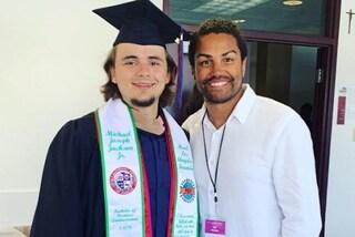 Il figlio di Michael Jackson, Prince, si è laureato in Economia aziendale