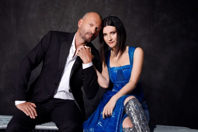 Laura Pausini e Biagio Antonacci (Cosimo Buccolieri)