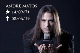 Morto André Matos, l'ex cantante degli Angra e dei Viper aveva 47 anni