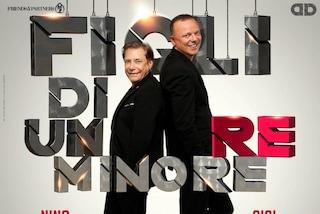 """Gigi D'Alessio e Nino D'Angelo, rinviati a settembre i tre concerti di """"Figli di un Re Minore"""""""