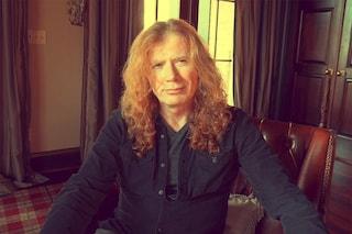 """Dave Mustaine dei Megadeth ha un cancro alla gola: """"Tour cancellato, ma torneremo presto"""""""