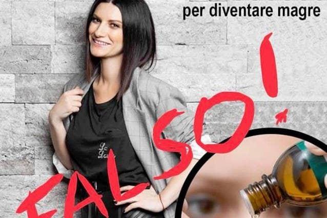 Laura Pausini contro chi sfrutta la sua immagine per promuovere diete