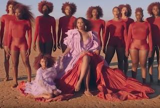 Beyoncé, nel video di Spirit anche la figlia Blue Ivy, tra deserto e Re Leone