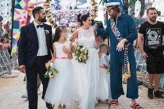 """Jova Beach Party, il primo matrimonio è tra Mariarosaria e Massimiliano: """"Emozioni reali"""""""