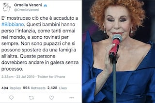 """Bibbiano, Ornella Vanoni dimentica la Legge: """"Dovrebbero andare in galera senza processo"""""""