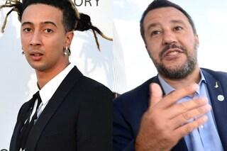 "Ghali chiama fascista Matteo Salvini, lui: ""Mi insulta, ma la sua musica mi piace"""