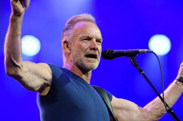 Sting: l'ex Police annulla dua date del tour su consiglio del medico