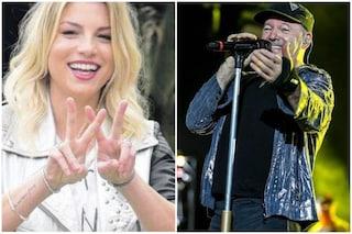 """Vasco Rossi scrive a Emma Marrone, dopo l'operazione: """"Vai Emma"""""""