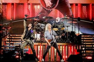 Queen e Adam Lambert in concerto a Bologna: parte dall'Italia il tour della band