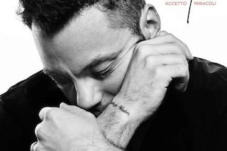 """Il nuovo singolo di Tiziano Ferro è Accetto miracoli, scritto con Giordana Angi: """"Parlo del destino"""""""