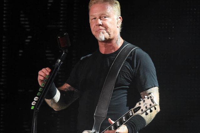 James Hetfield (Photo by Ian Gavan/Getty Images)