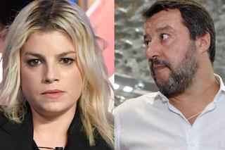 """Matteo Salvini: """"Emma Marrone? Le manderò dei fiori, mi piacciono le sue canzoni"""""""