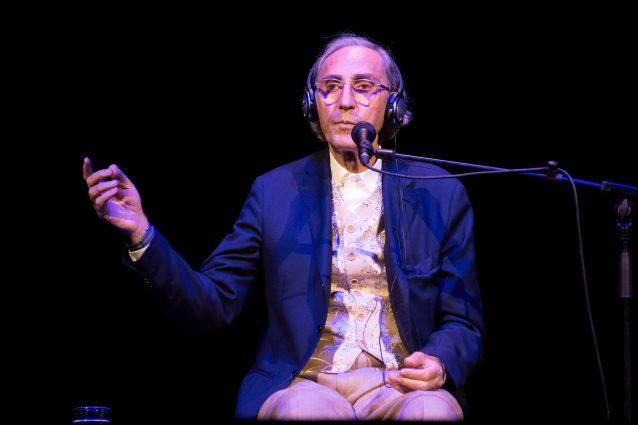 Franco Battiato (foto d'archivio LaPresse)