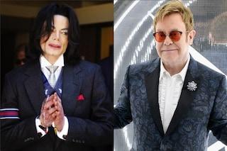 """Elton John su Michael Jackson: """"Era davvero malato di mente, si isolò dalla realtà"""""""