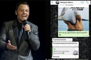 Tiziano Ferro e le chat su Whatsapp: il messaggio a Marco Mengoni dopo Tommaso Paradiso