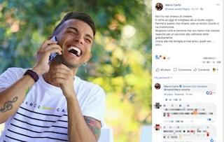 """Marco Carta parla dopo l'assoluzione per le tshirt rubate: """"È stato solo un brutto sogno"""""""