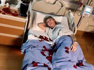 Miley Cyrus in ospedale (via Instagram)