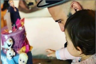 """Giuliano Sangiorgi e la dedica per sua figlia Stella: """"Un anno di te, amore mio"""""""