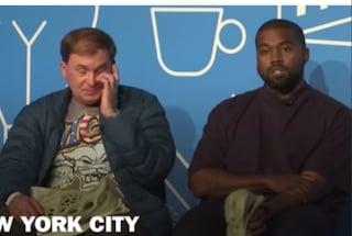 Kanye West vuole candidarsi a presidente degli Stati Uniti nel 2024, il pubblico in sala ride
