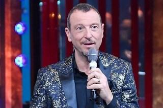 """Sanremo 2020, Amadeus: """"Morgan e Levante tra i concorrenti. Se Rula Jebreal verrà non farà politica"""""""