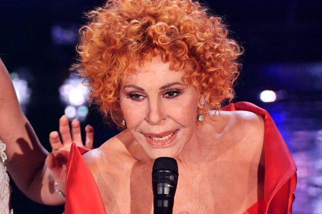 Ornella Vanoni al festival di Sanremo (LaPresse)