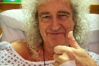 """Brian May dei Queen si è operato per un dolore al tallone: """"Soffrivo molto, ma non vi allarmate"""""""
