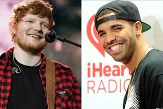 Drake ed Ed Sheeran sono gli artisti più ascoltati in streaming del decennio