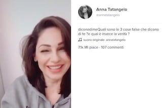 """Anna Tatangelo su TikTok #diconodime: """"Dicevano che non sapevo cucinare e ho vinto Masterchef"""""""