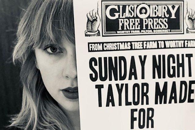 Taylor Swift si esibirà a Glastonbury 2020!