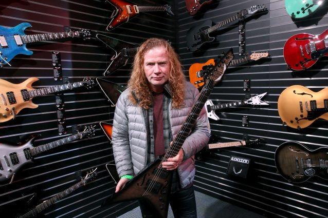 Dave Mustaine (foto: Jesse Grant/Getty Images for NAMM)
