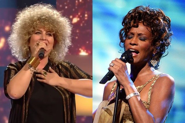 Sonia Mosca e Whitney Houston
