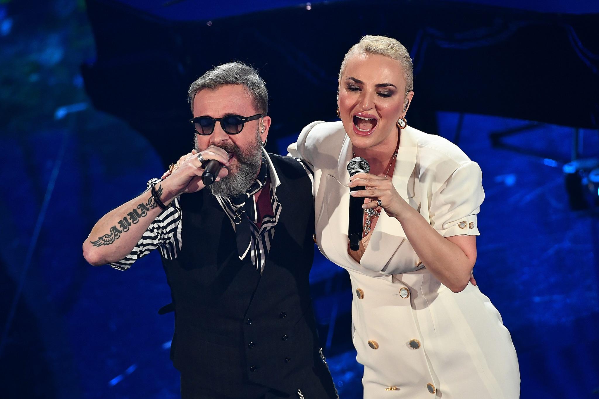 Marco Masini e Arisa (Lapresse)