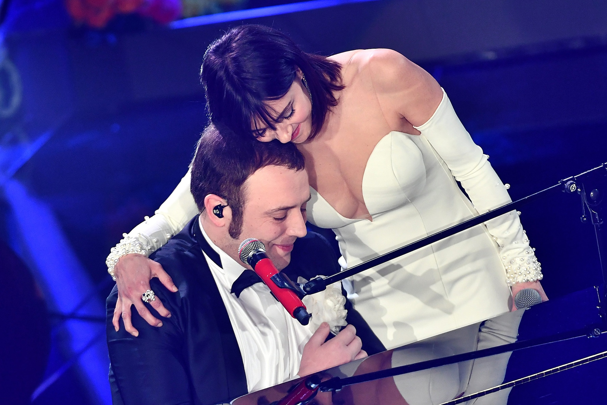Raphael Gualazzi e Simona Molinari (Lapresse)