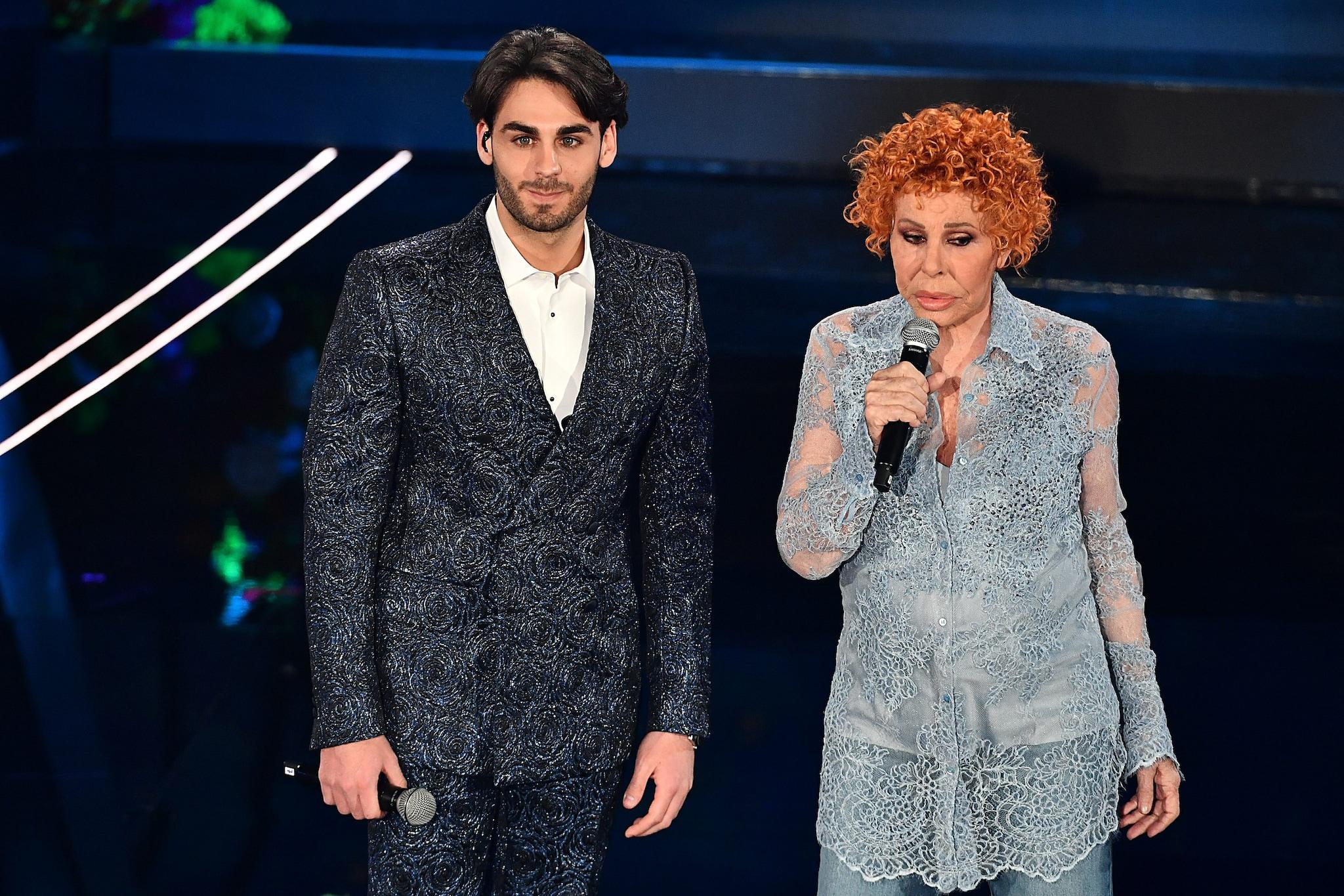Alberto Urso e Ornella Vanoni (Lapresse)
